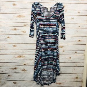 💕American rag3/4 sleeveless midi dress size S